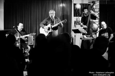 Concert du Bâbord Swing au Rouge Belle de Mai