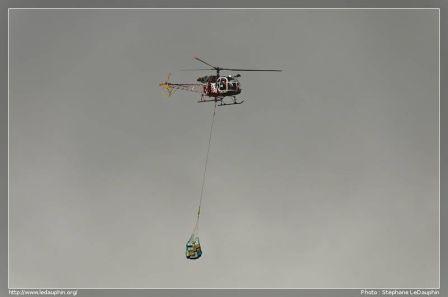Hélicoptère,Lama SA-315B
