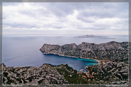 La Calanque de Sormiou, le Cap Redon et le Bec de Sormiou