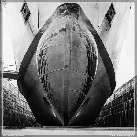 Le Trégastel dans la forme II du port de Brest