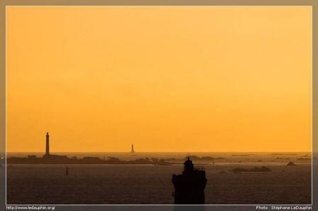 Le phare de l'Ile de Sein, La Vielle et Ar Men